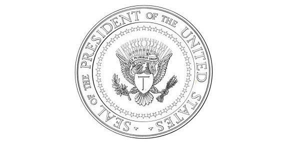 Artistic Trump Presidential Seal