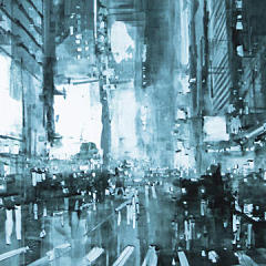 Small square crop of Composition 133, Jeremy Mann