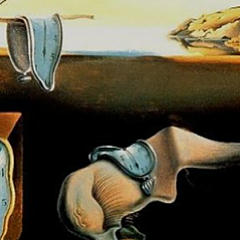 Small square crop of The Persistence of Memory, Salvador Dali