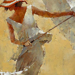 Small square crop of Adagio, Andre Kohn, Painting