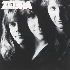 CD cover for Zebra, Zebra