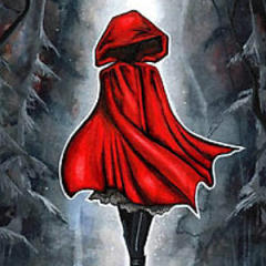 Small square crop of Little Red Riding Hood, Annya Kai, Painting