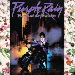 CD cover, Purple Rain, Prince and the Revolution