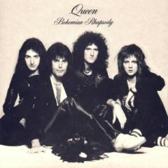 "CD cover of ""Bohemian Rhapsody,"" Queen"