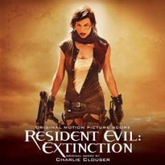 CD cover of Resident Evil: Extinction Score, Charlie Clouser