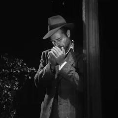 Small square-cropped capture of the Film Noir classic movie, Detour (Edgar G. Ulmer, 1945)