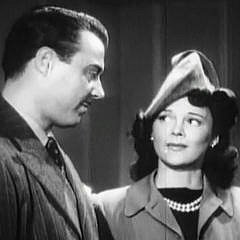 Square cropped capture from The Corpse Vanishes: Tristram Coffin (Dr. Foster) and Luana Walters (Patricia Hunter)