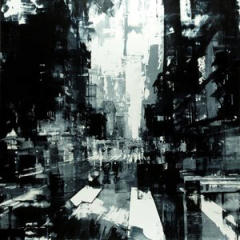 Small square crop of Composition 169, Jeremy Mann